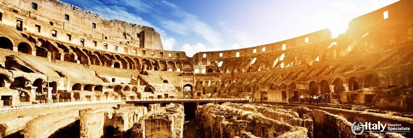 Get Inside the Roman Colosseum