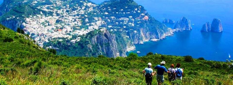 Walking the Island of Capri, Italy