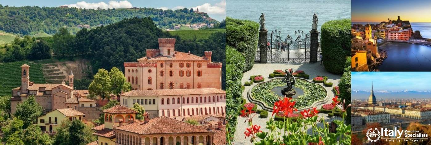 Journey through Liguria and Piedmont