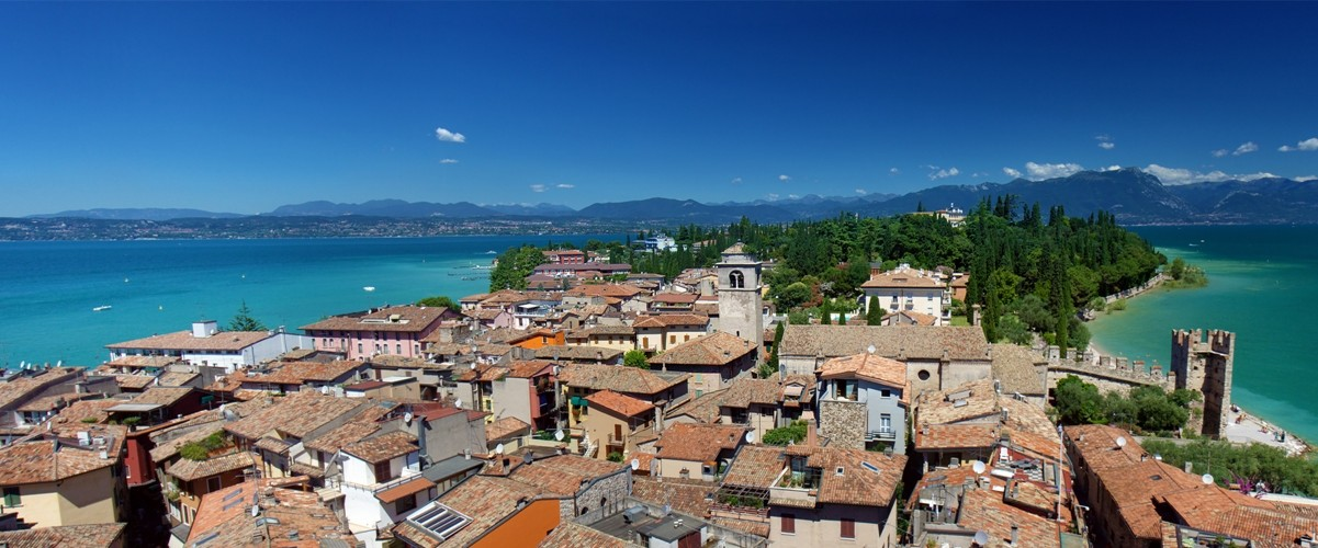 Beautiful Sirmione, Lake Garda, Northern Italy