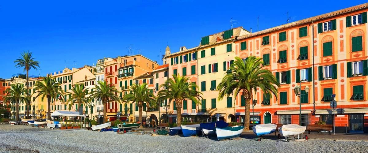 Santa Margherita Liguria Central Promenade