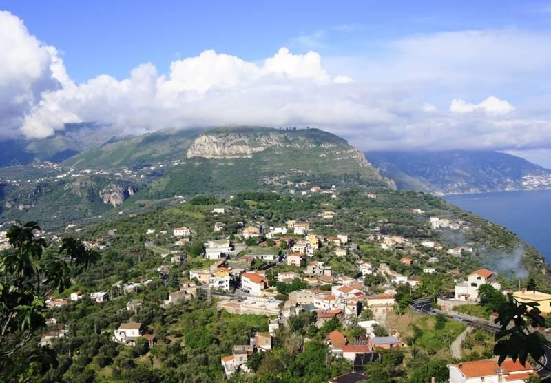View overlooking Coast of Sorrento