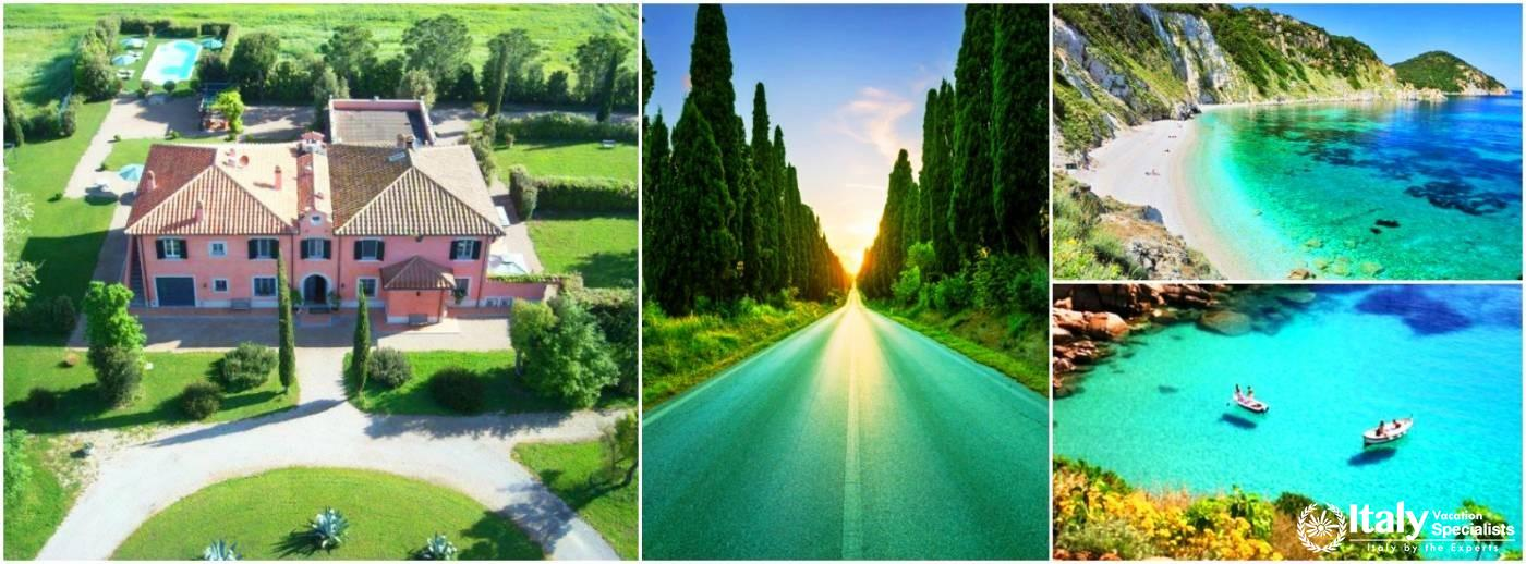 Villa Maremma - Tuscany - Coastal Villas in Tuscany