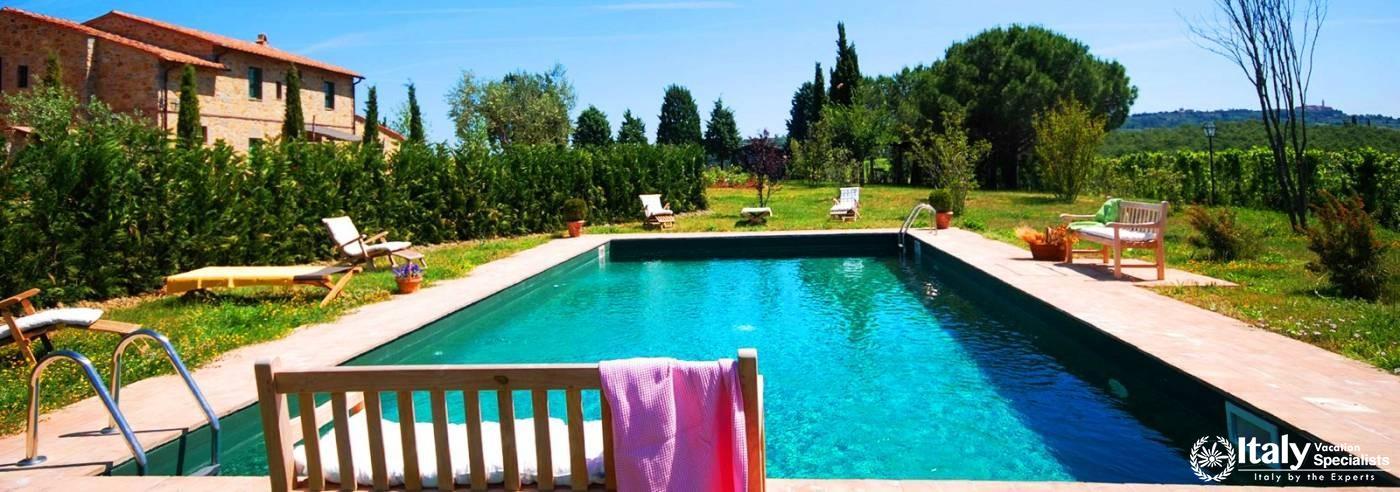 Villa Campi - Val D'Orcia - tuscany