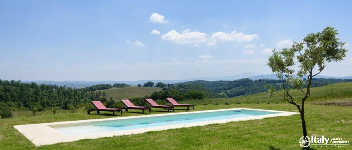 Peaceful environment of Villa Casa Rondini