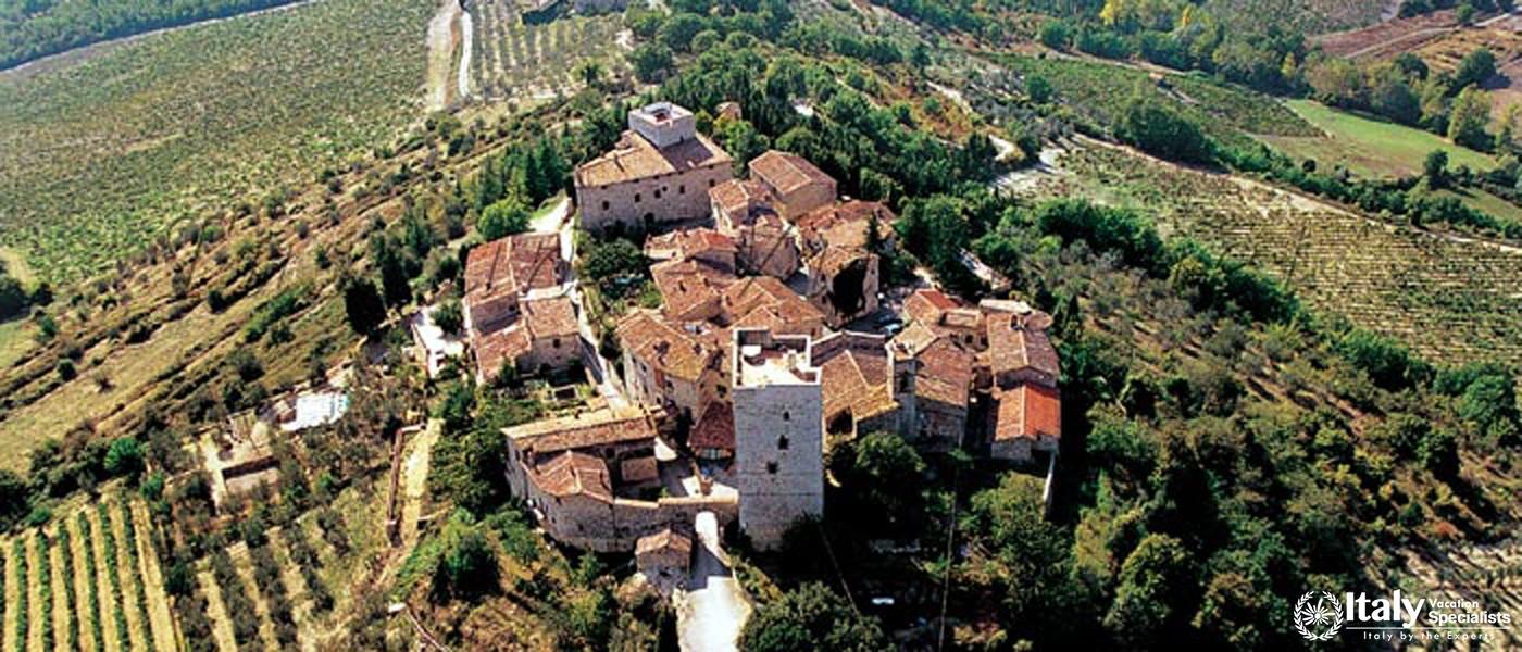 Overview of Villa Del Casaletto
