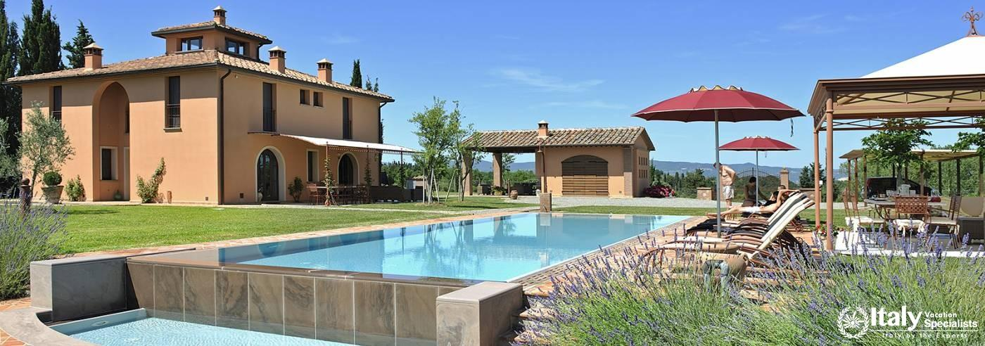 Villa Sole Gira Private Villa Tuscany