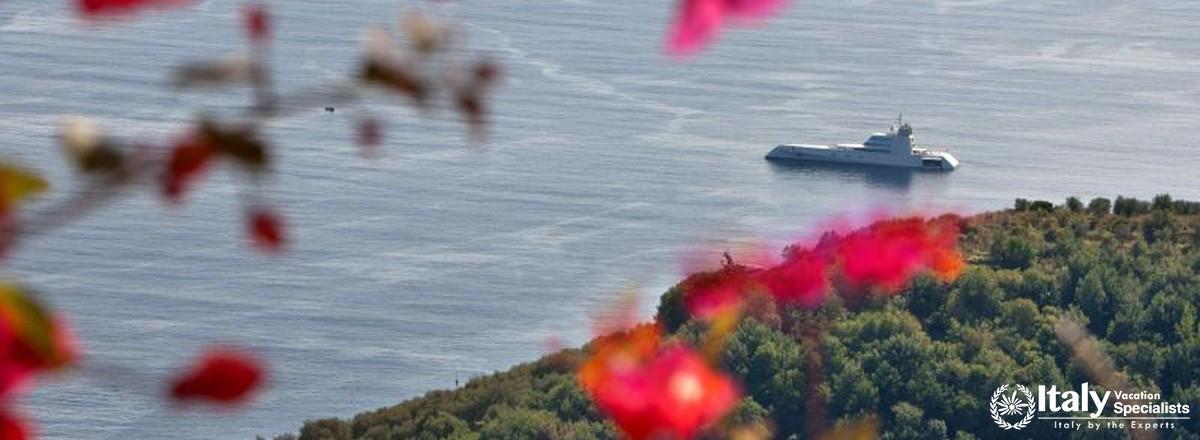 Sea-view from Villa Mafalda