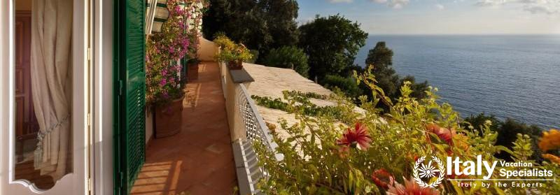 Terrace in Villa Tramonto