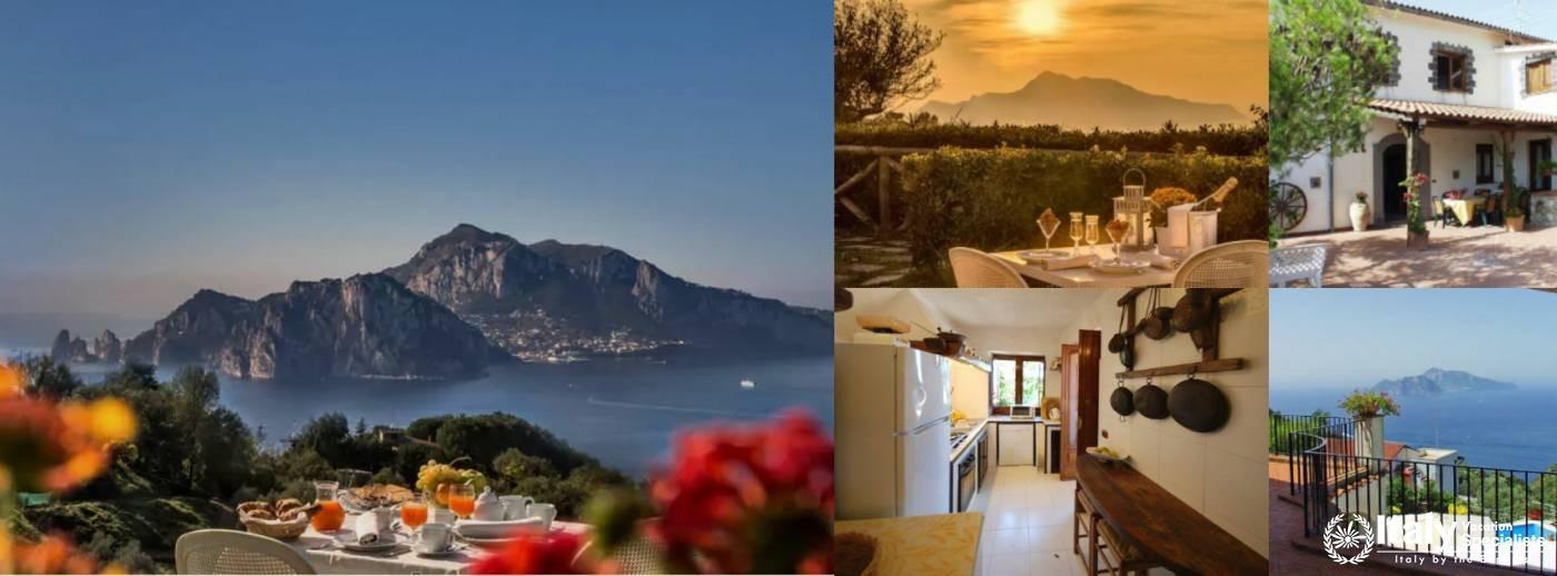 Villa in Sorrento for 17 pax