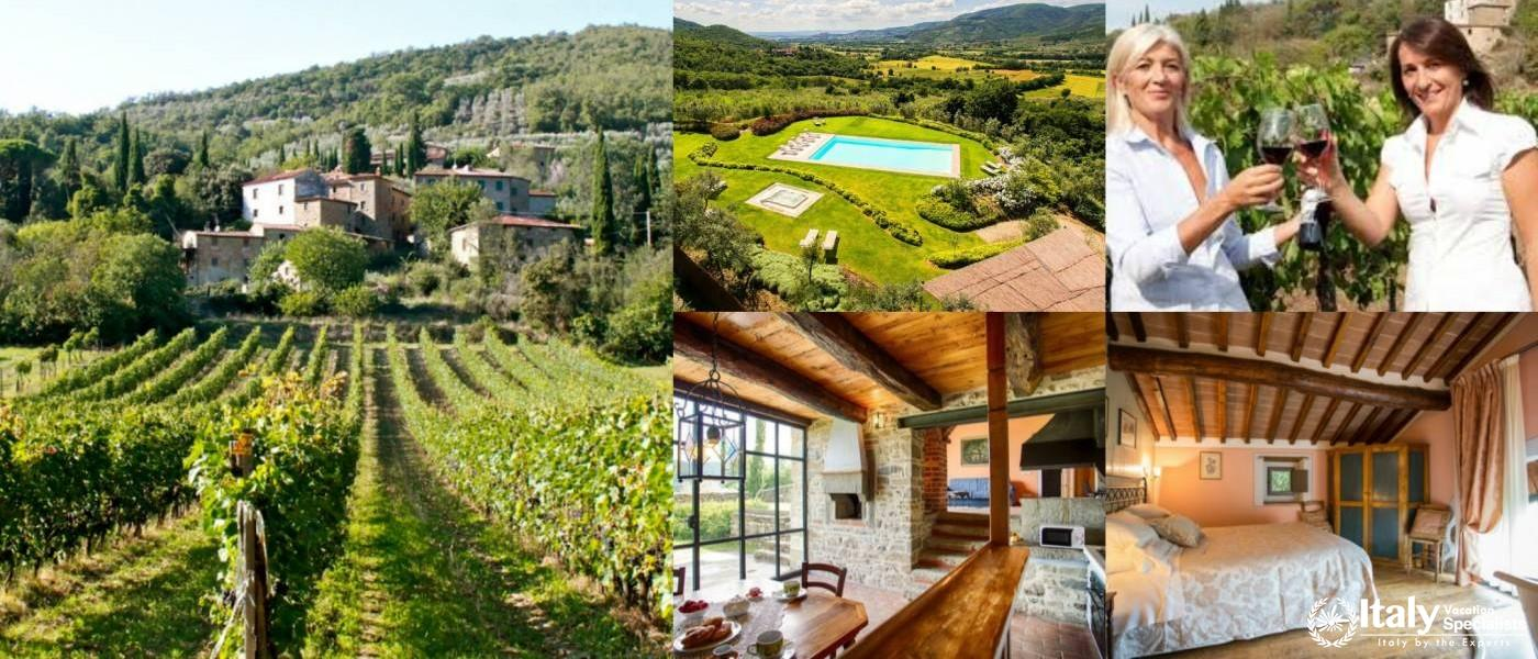 Villa di Amore, Wine Estate Tuscany