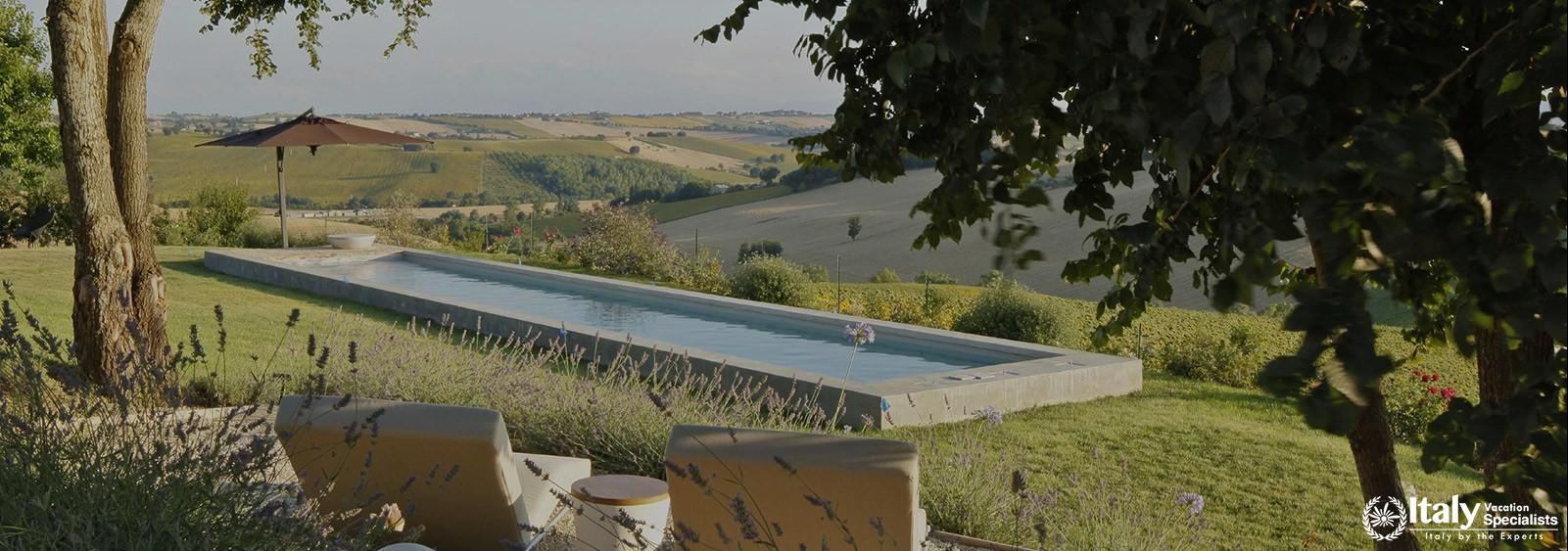Villa with Pool for Groups in Marche Region Italy