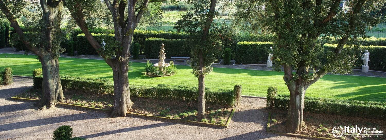 Trees and beauty of Villa Pattoni