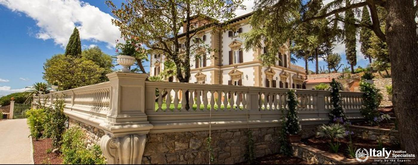 Overview of Villa Giovanile