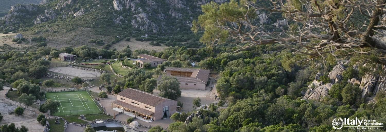 Beautiful view of Villa Cuccumiao
