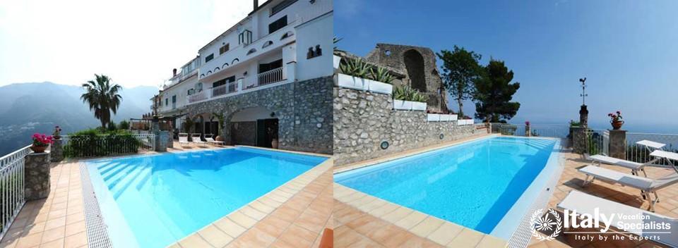 Swimming pool in Villa Tabac