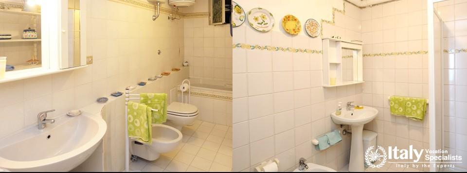 Excellent bathroom in Villa Bute