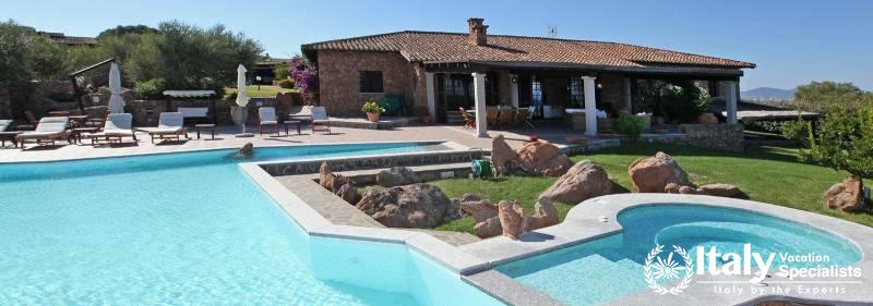 Villa in Sardinia with Swimming Pool