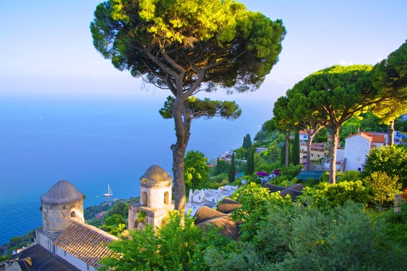 Amalfi Coast, town of Ravello