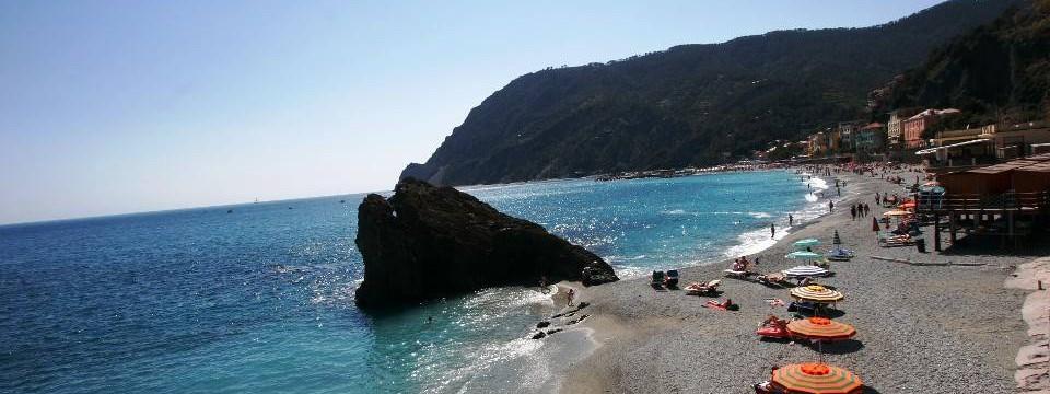 Stunning beaches of Monterosso Al Mare, Cinque Terre, Italy