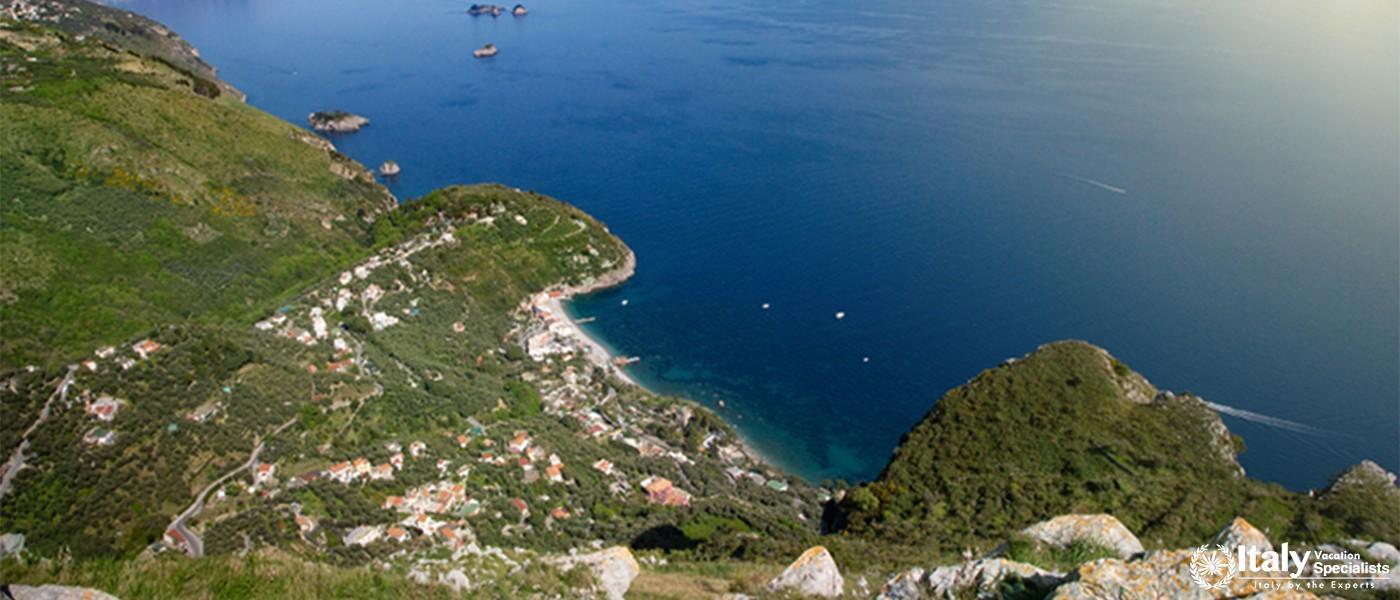 Paradise along the coast Amalfi landscape Italy