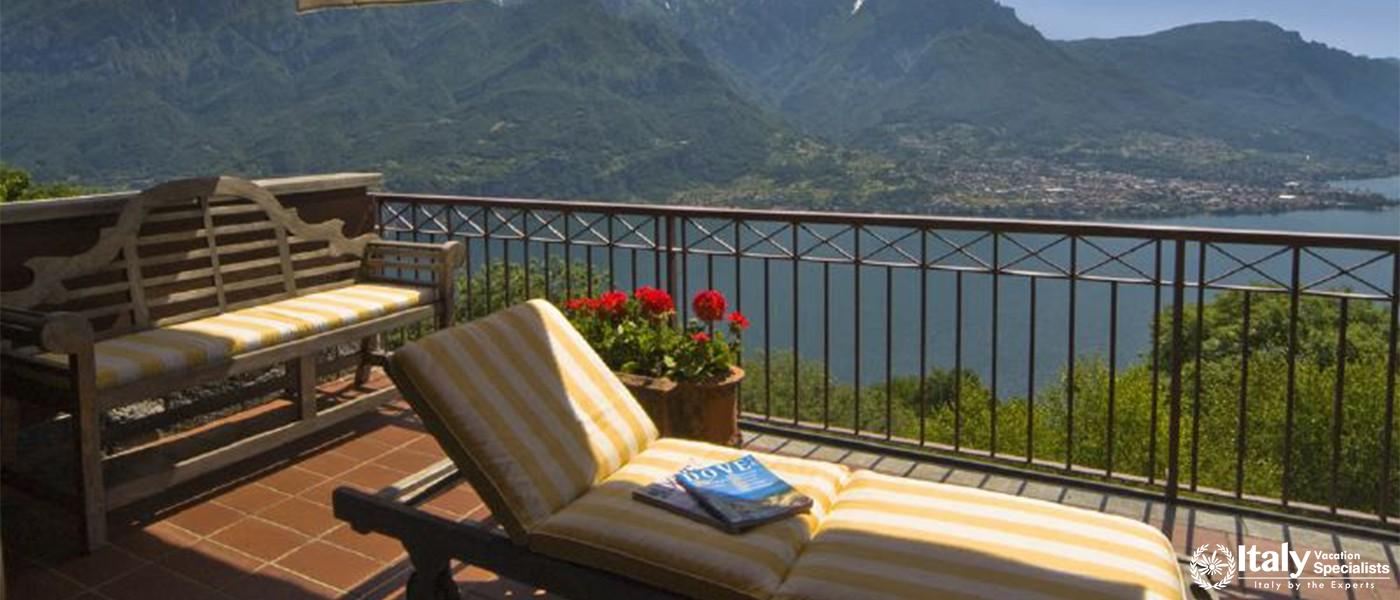Heart touching view with personal balcony in Villa Willows