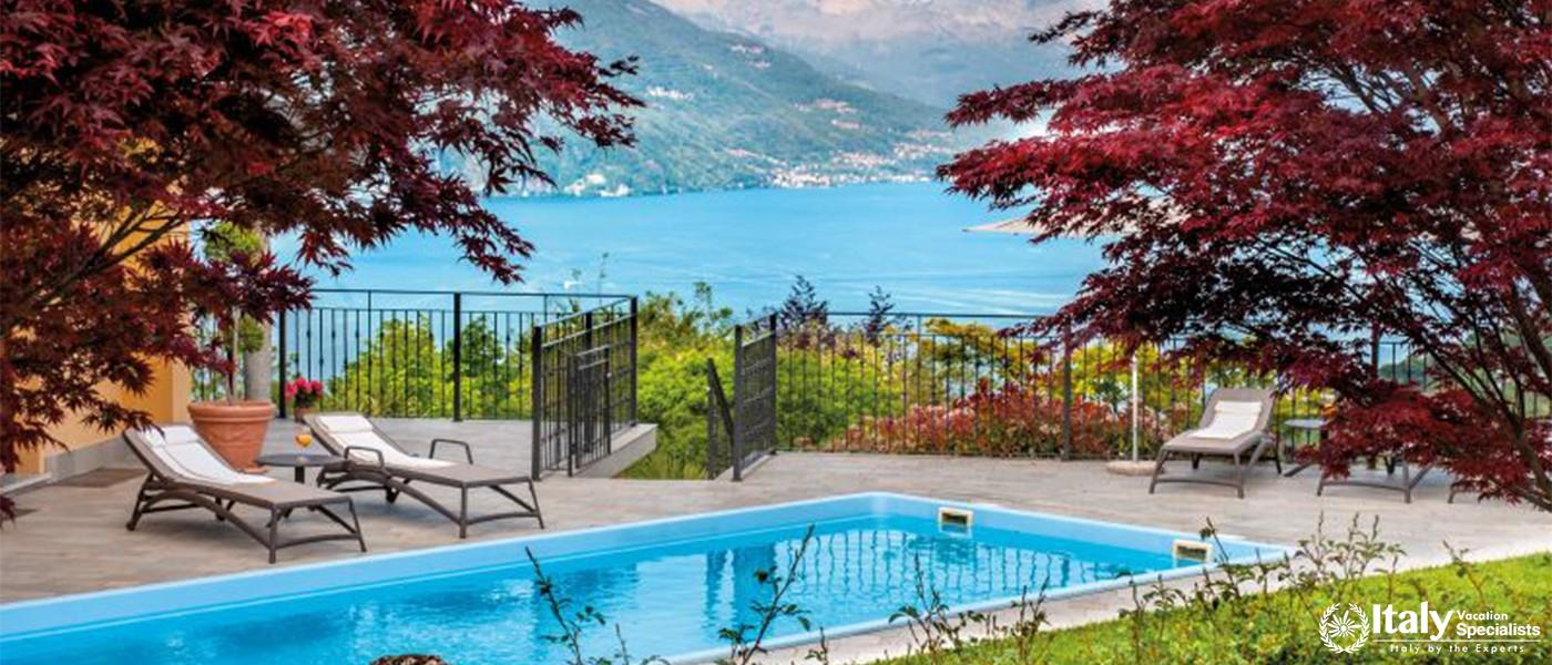 amazing view with swimming pool in Villa Lumsdens