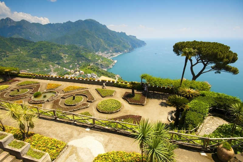 Amalfi Coast, Gardens at Ravello