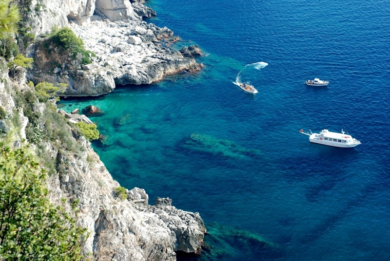 Amalfi Coast, Secluded Bay