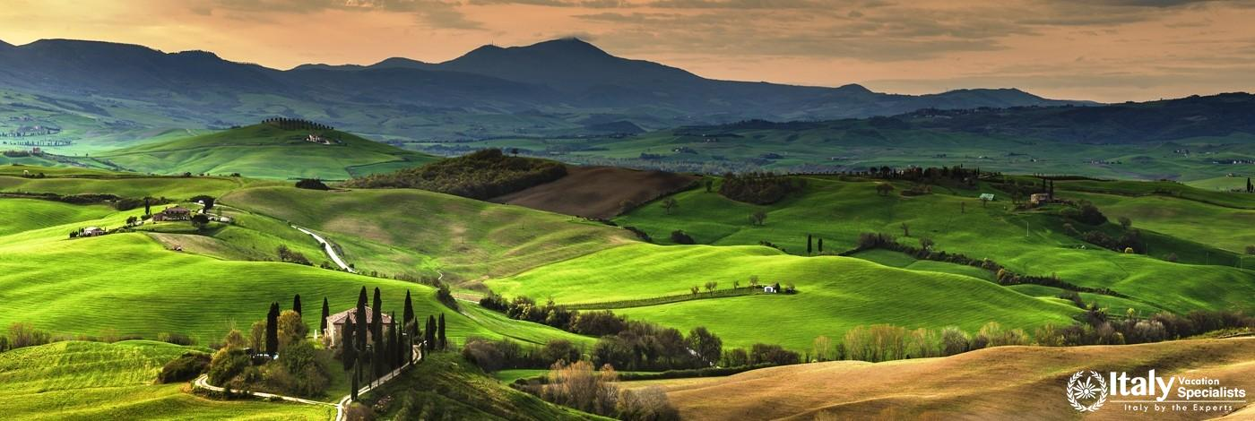 Experience the Magnificent Val D'Orcia