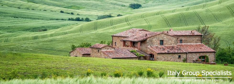 Incredible Beauty Surrounds the Villa Patrizia in the Val D'Orcia