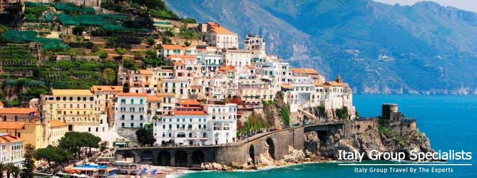 Amalfi Town, on the Amalfi Coast -  Italy