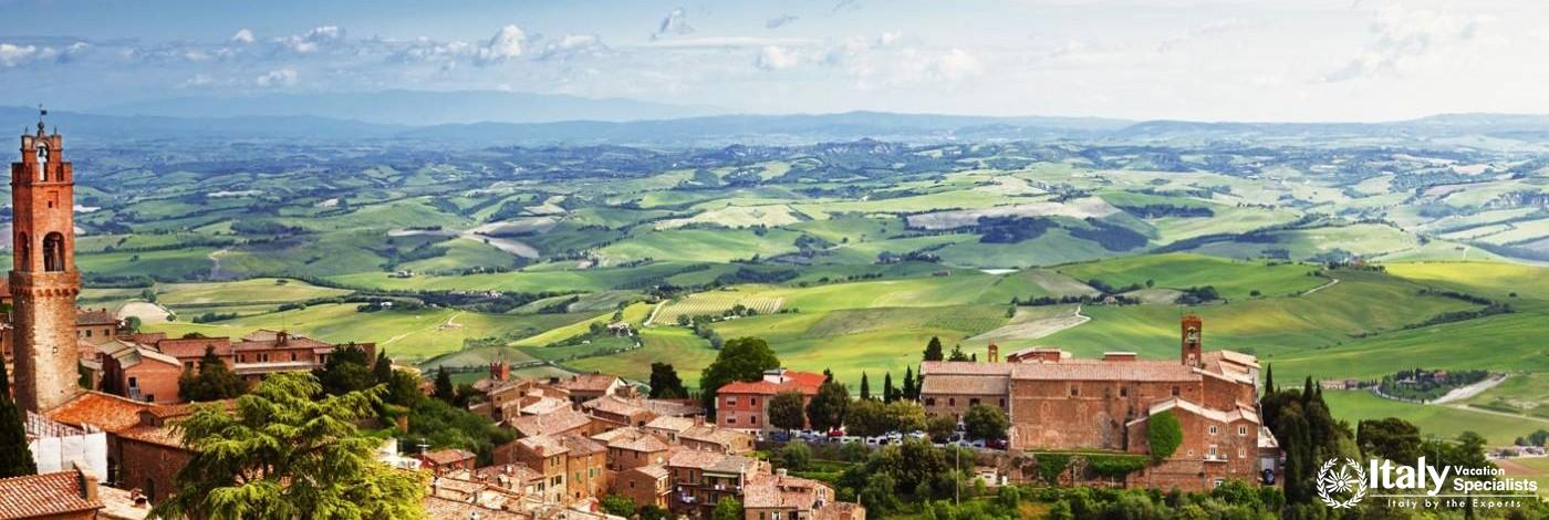 Another View on Montalcino, Tuscany