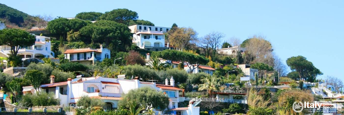 Villas on Island of Ischia