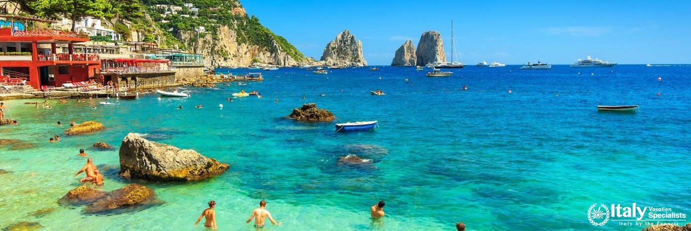 Gorgeous waters of Capri