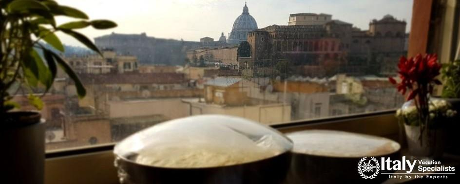 Amazing view - Roman Cooking Dinner