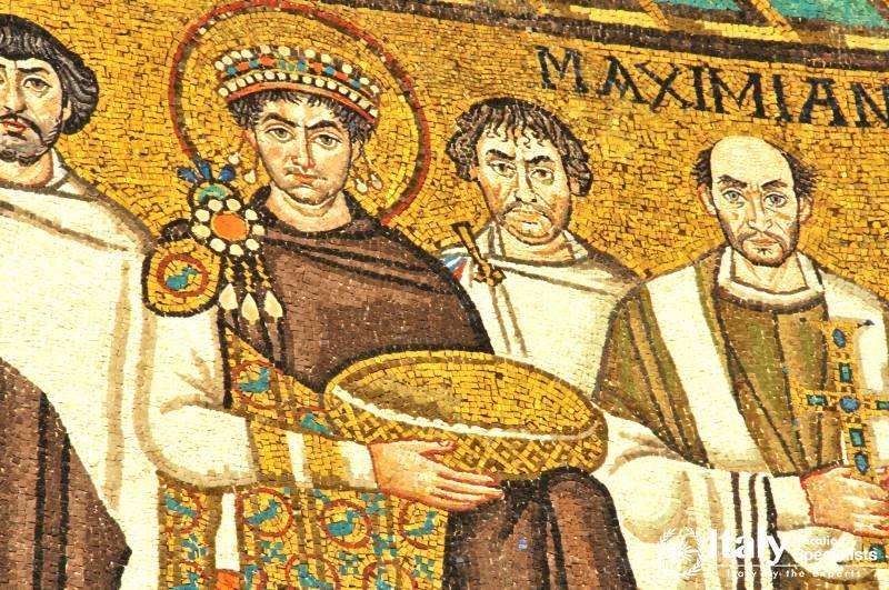 San Vitale - The Emperor Justinian