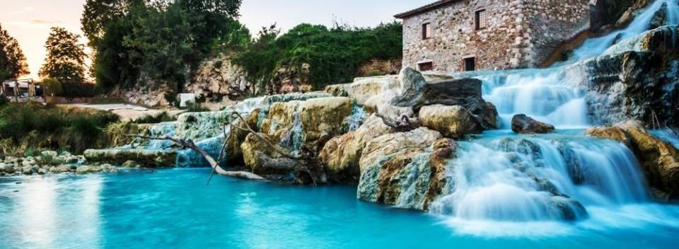 Saturnia Natural Hot-Springs Italy