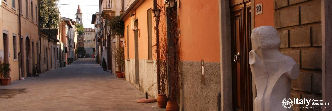 Gorgeous Artistic Lined Streets of Pietrasanta, Tuscany