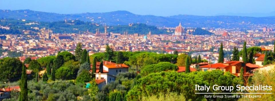 View of Florence from Tuscan Countryside - Photo by Jesse Andrews