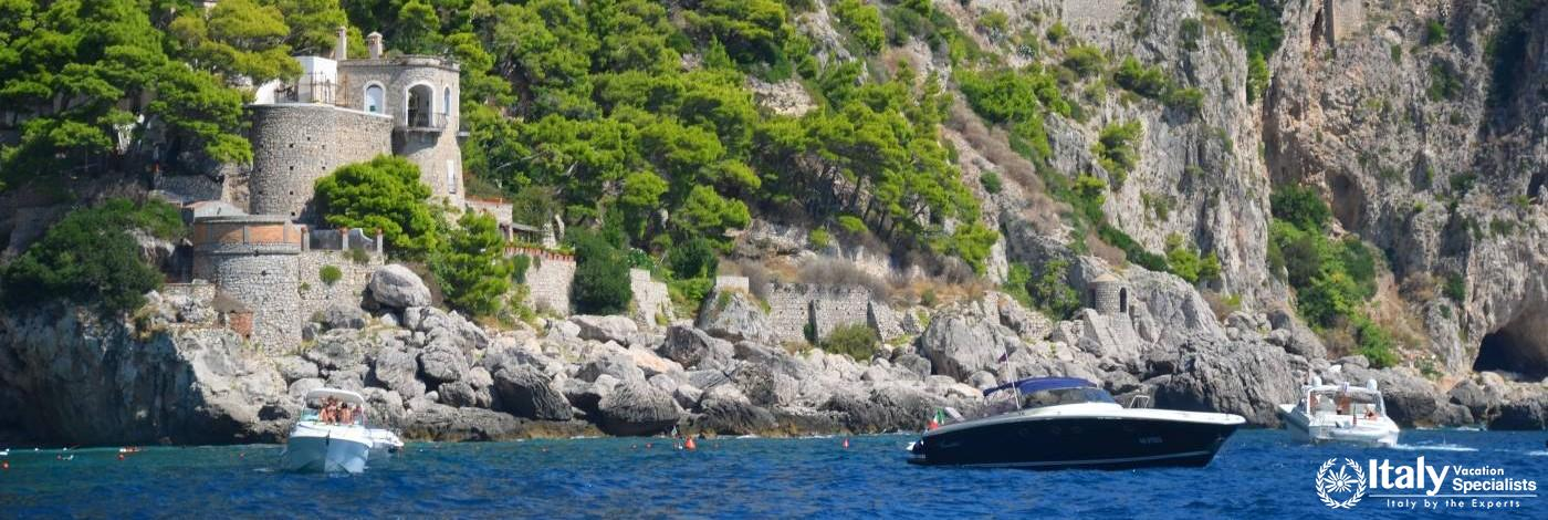 Experience Beautiful Capri from the Water