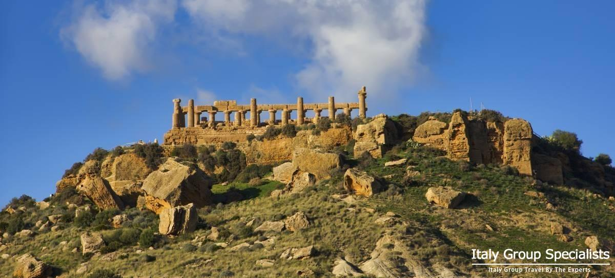 Greek Ruins at Agrigento, Sicily