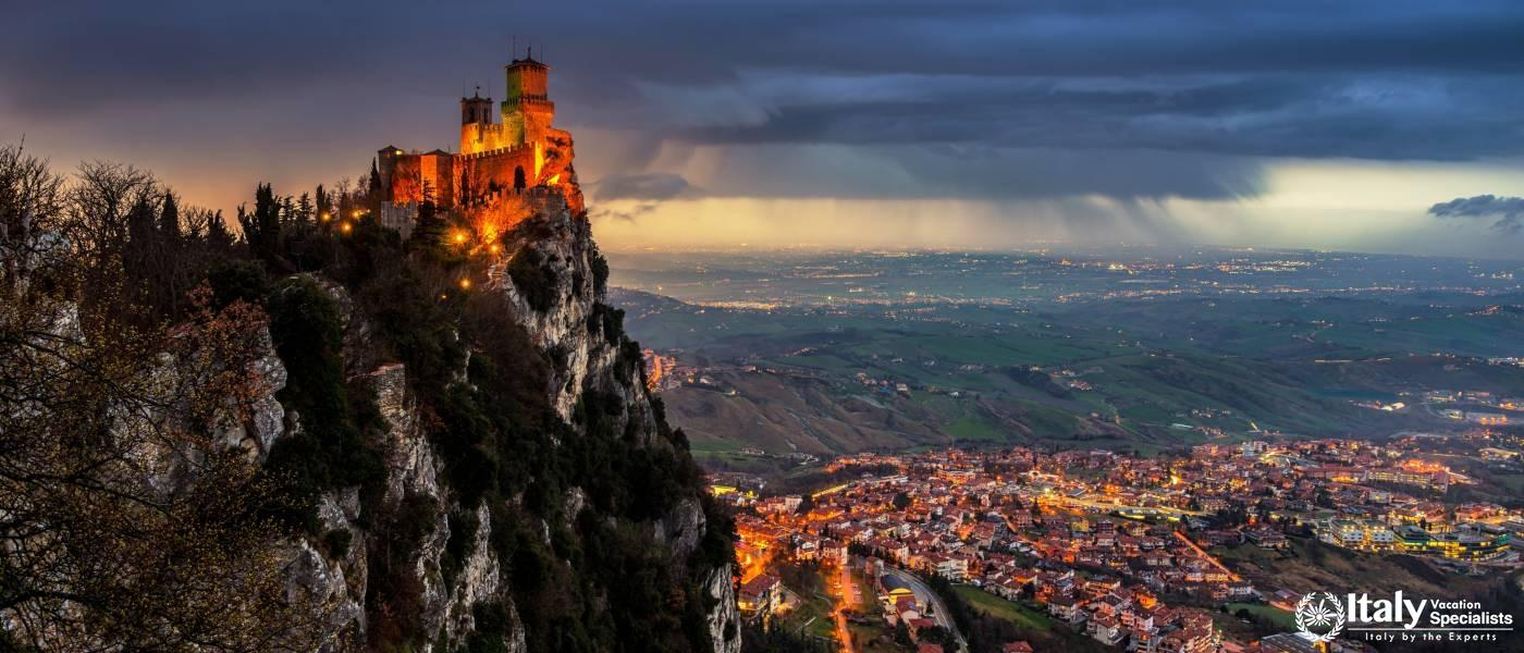San Marino - Northern Italy - Shopping Tours and Private Tours to San Marino
