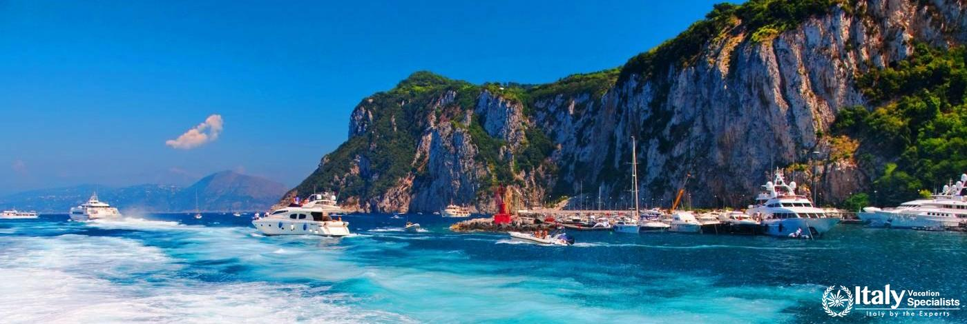 The Incredible Waters of the Island of Capri - Italy