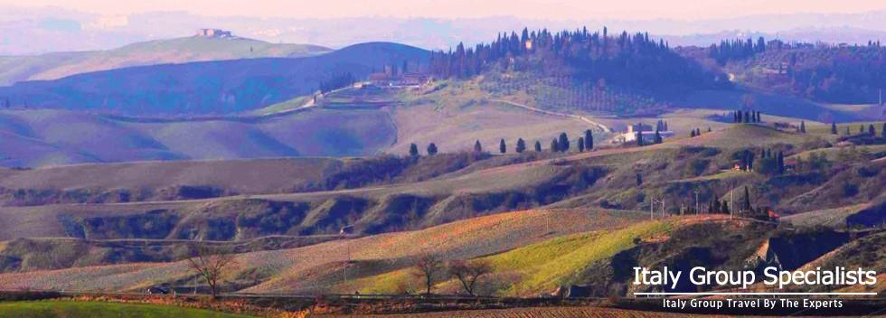 Spectacular Drives through the Countryside Surrounding Volterra