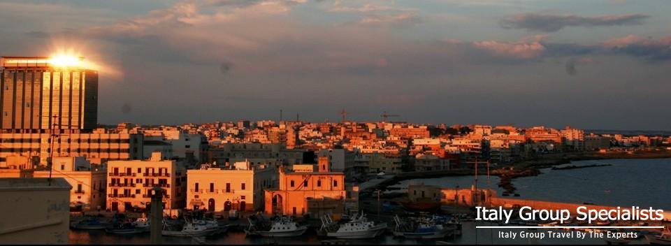 Beautiful Gallipoli, Puglia at Sunset - Photo by Jesse Andrews