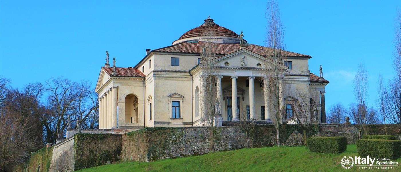 Villa Capra called La Rotonda at Vicenza (Italy) It's probably the most famous villa in the world