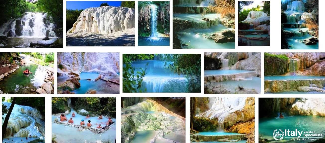 Natural Hot Springs of San Filipoo = Bagni di San Filippo, Tuscany