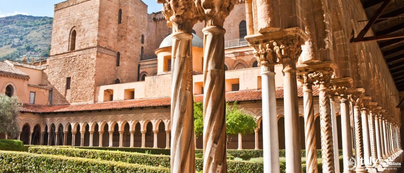 Inside Monreale - Palermo, Sicily