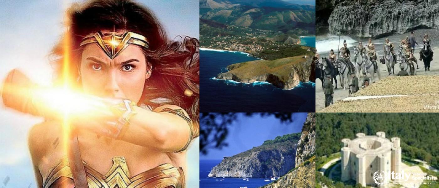 Wonder Woman Tour Italy
